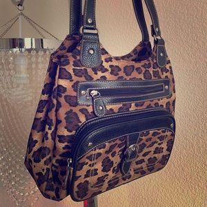 🐆Animal print Shoulder Bag